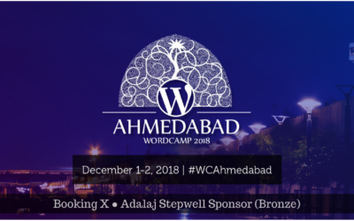 Booking X Sponsors WordCamp Ahmedabad 2018
